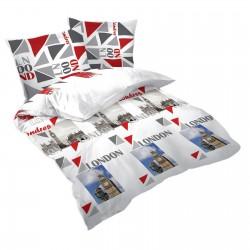 Londres Big Ben - 100% Coton Parure de Lit (Housse de couette et Taies d'oreiller)