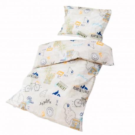 Le voyage 100 coton parure de lit pour b b housse de - Housse de couette pour lit bebe ...