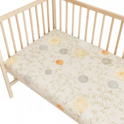 Baby Sunrise / Lot de 2 Draps Housse - 100% Coton linge de lit pour bébé