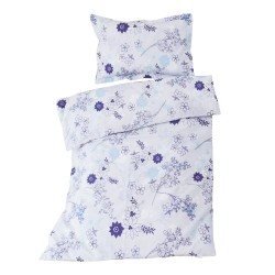 Baby Sunrise - 100% Coton parure de lit pour bébé (Housse de couette et Taie d'oreiller)
