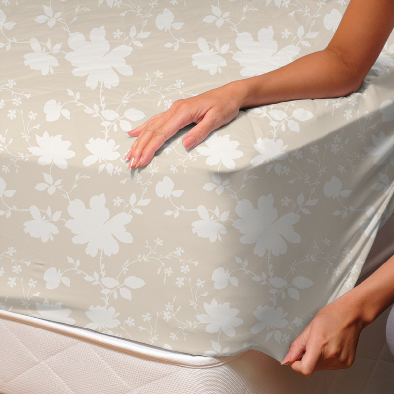 primavera drap housse 100 coton linge de lit soulbedroom. Black Bedroom Furniture Sets. Home Design Ideas
