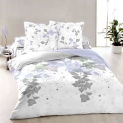 Ivy Spring Leaves - Bed Linen Set, 100% Cotton (Duvet Cover & Pillow Cases)