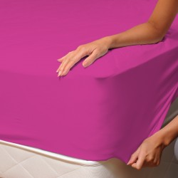 Cyclamen - Fitted Sheet / 100% Cotton Bedding