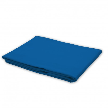 Blue - Flat Sheet / 100% Cotton Bedding