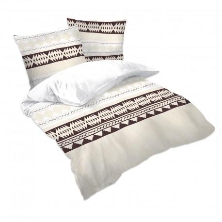 Ethno - 100% Cotton Bed Linen Set (Duvet Cover & Pillow Cases)