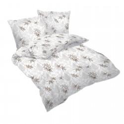 Златни листчета - 100% памук спален комплект (плик и калъфки)