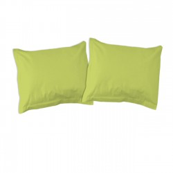 Green - Pillow cases / 100% Cotton Bedding