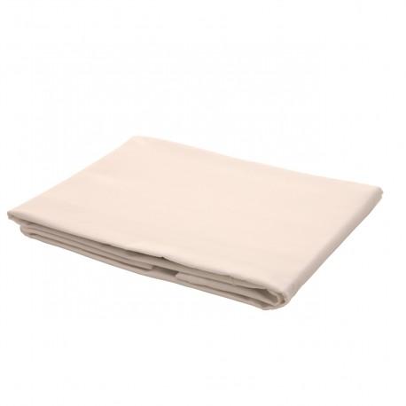 Ecru - Flat Sheet / 100% Cotton Bedding