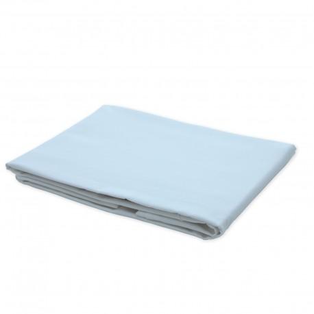 Light blue - Flat Sheet / 100% Cotton Bedding