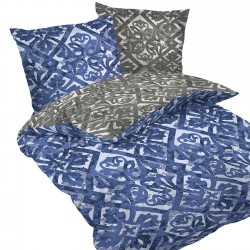 Porto - 100% Cotton Bed Linen Set (Duvet Cover & Pillow Cases)