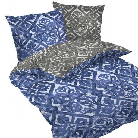 Porto - 100% Cotton Bed Linen Set (Duvet Cover & Pillow Cases)