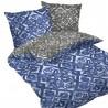 Porto - 100% Coton Parure de Lit (Housse de couette et Taies d'oreiller)