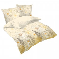 Sunrise - 100% Cotton Bed Linen Set (Duvet Cover & Pillow Cases)