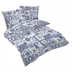 Flore - 100% Cotton Bed Linen Set (Duvet Cover & Pillow Cases)
