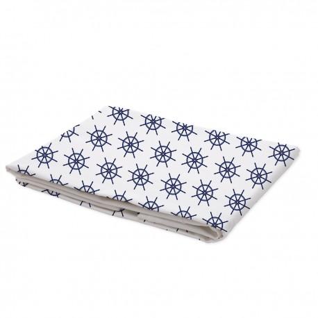 Navy Blue - Flat Sheet / 100% Cotton Bedding