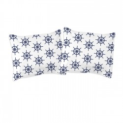 Navy - Pillow cases / 100% Cotton Bedding