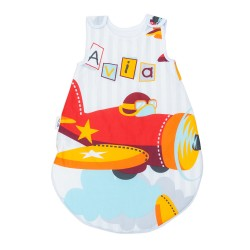 Aviator Planes / Sleeping bag Pati'Chou for baby