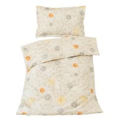 Изгрев (Sunrise) - 100% памук бебешки спален комплект (торба и калъфка)