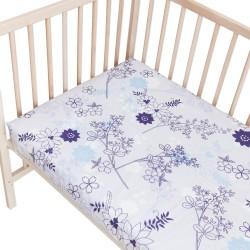 Baby Lilana / Lot de 2 Draps Housse - 100% Coton linge de lit pour bébé