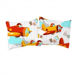 Aviator / Planes - Taies d'oreiller ou traversin / 100% Coton