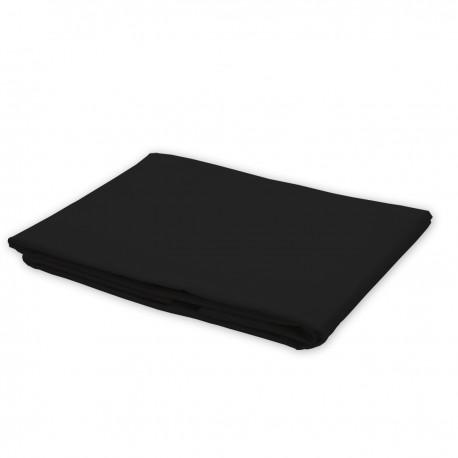 Black - Flat Sheet / 100% Cotton Bedding
