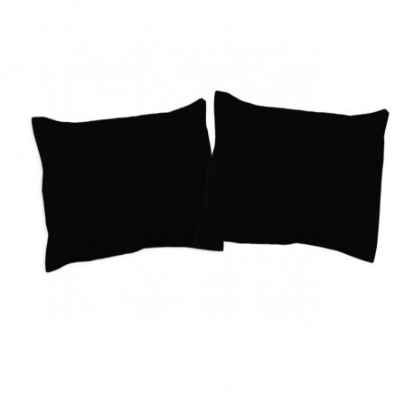 Черно - Калъфки комплект / 100% Памук