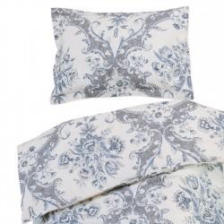 Venise - 100% Coton parure de lit pour bébé (Housse de couette et Taie d'oreiller)