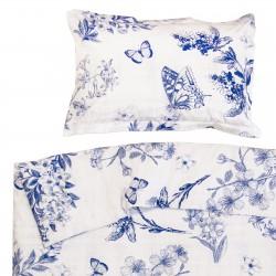 Josephine - 100% Coton parure de lit pour bébé (Housse de couette et Taie d'oreiller)