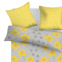 Cressida - 100% Cotton Bed Linen Set (Duvet Cover & Pillow Cases)
