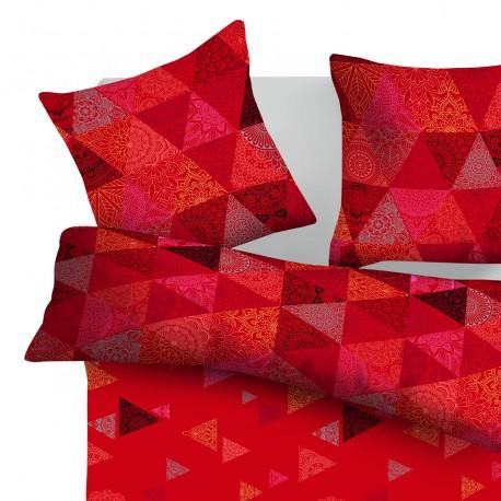 Morocco - 100% Coton Parure de Lit (Housse de couette et Taies d'oreiller)