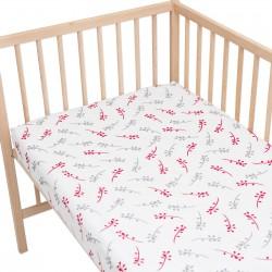 Isabella / Lot de 2 Draps Housse - 100% Coton linge de lit pour bébé et enafant