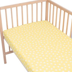 Cressida / Lot de 2 Draps Housse - 100% Coton linge de lit pour bébé et enafant