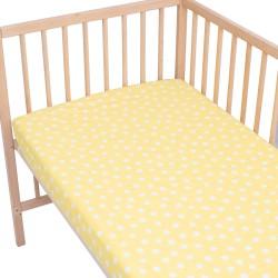 Кресида - Комплект 2 бр. чаршаф с ластик за бебе и деца / 100% Памук