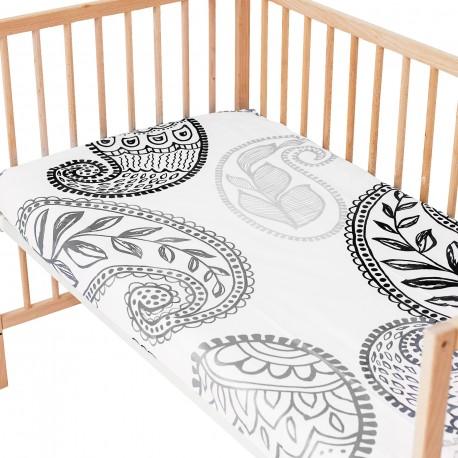Sofia / Lot de 2 Draps Housse - 100% Coton linge de lit pour bébé et enafant
