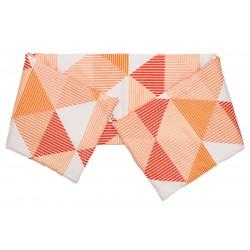 Arlette Orange - Cot / Crib Bumper Pad Half Pati'Chou
