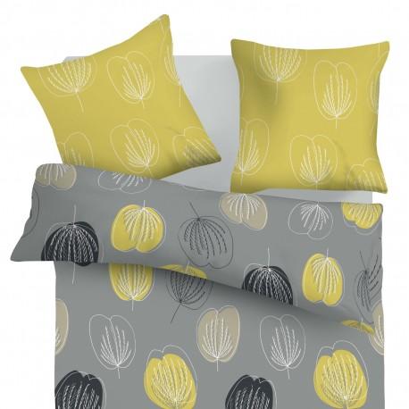 Grace - 100% Cotton Bed Linen Set (Duvet Cover & Pillow Cases)