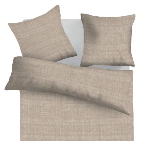 Raster - 100% Coton Parure de Lit (Housse de couette et Taies d'oreiller)