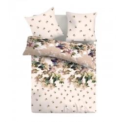 Лаура - 100% памук спален комплект (плик и калъфки)