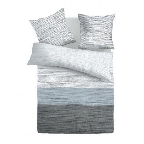Mist - 100% Cotton Bed Linen Set (Duvet Cover & Pillow Cases)