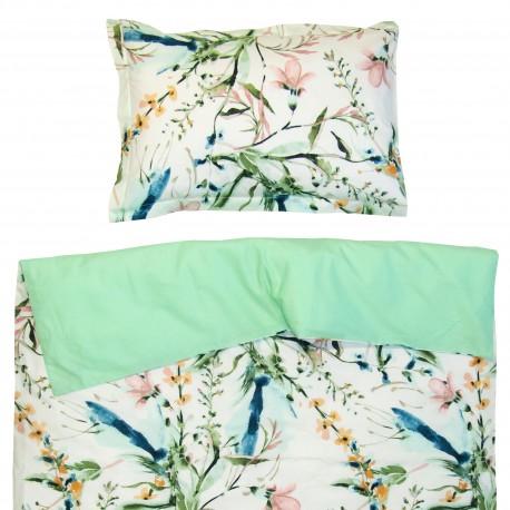 Aphrodite - 100% Coton parure de lit pour bébé (Housse de couette et Taie d'oreiller)