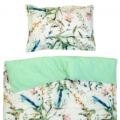 Aphrodite - 100% cotton cot / crib baby set (duvet cover and pillow case)