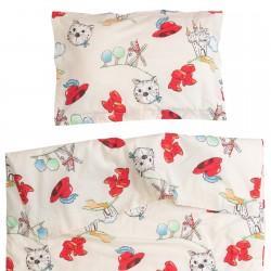 Tommy 2 - 100% Cotton Cot Set (Duvet Cover & Pillow Case)
