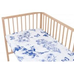 Josepihne / Lot de 2 Draps Housse - 100% Coton linge de lit pour bébé et enafant