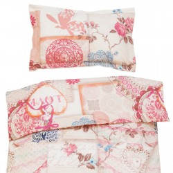 Vintage Love - 100% Cotton Cot / Crib Set (Duvet Cover & Pillow Case)