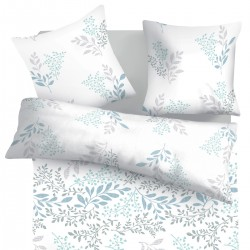 Victoria - 100% Cotton Bed Linen Set (Duvet Cover & Pillow Cases)