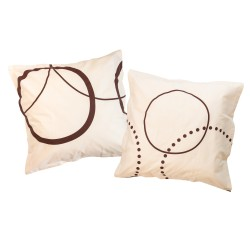 Tristan - Taies d'oreiller ou traversin / 100% Coton