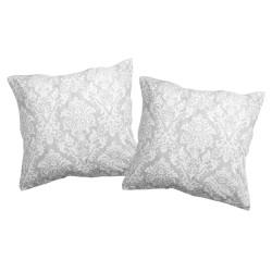 Rococo - Taies d'oreiller ou traversin / 100% Coton