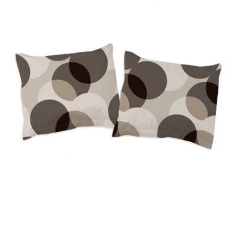 Cercles - Taies d'oreiller ou traversin / 100% Coton