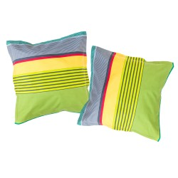 Color Stripes - Pillow cases / 100% Cotton Bedding