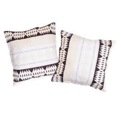 Ethno - Taies d'oreiller ou traversin / 100% Coton